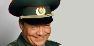 Олексій Маклаков в ролі прапорщика Шматко
