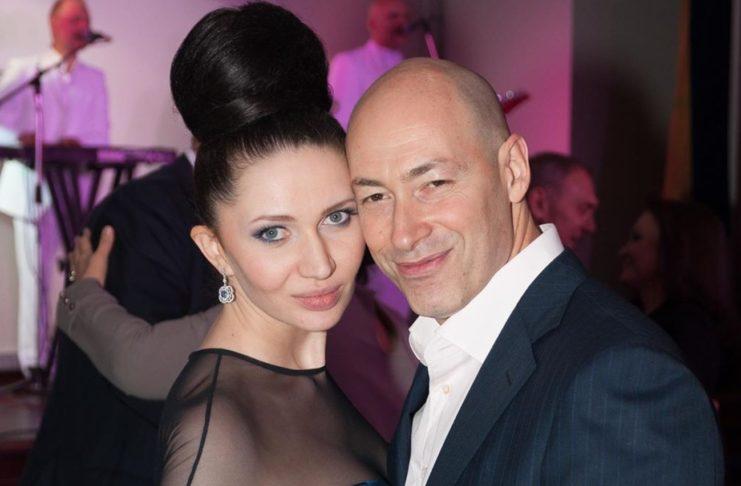 Алеся Бацман и Дмитрий Гордон