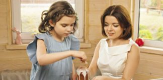 Марічка Падалко готує вдома