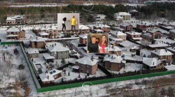 Дома Потапа с Настей и Юрия Горбунова с Катей Осадчей стоят по соседству