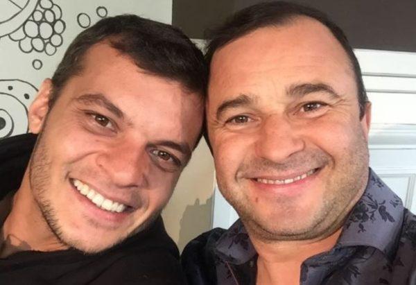 Виктор Павлик с сыном Александром