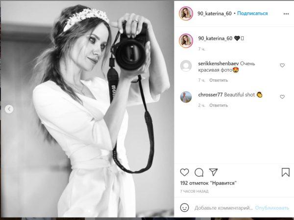 Невестка Оксаны Марченко Катя, фото после родов