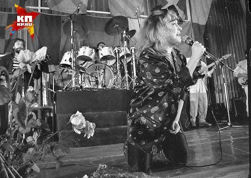 Алла Пугачова на концерті в Прип'яті осені 1986 року