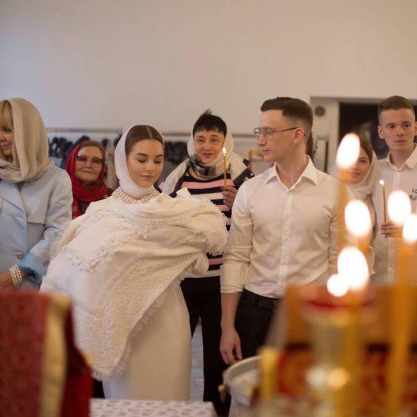 Співачка Валерія та Йосип Пригожин хрестили внучку Селін