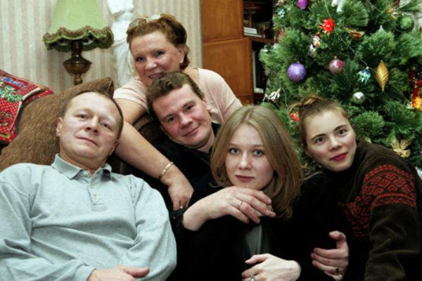 Сім'я Владислава Галкіна
