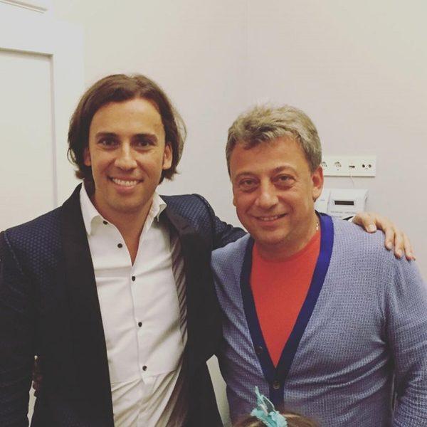 Максим Галкін з рідним братом Дмитром