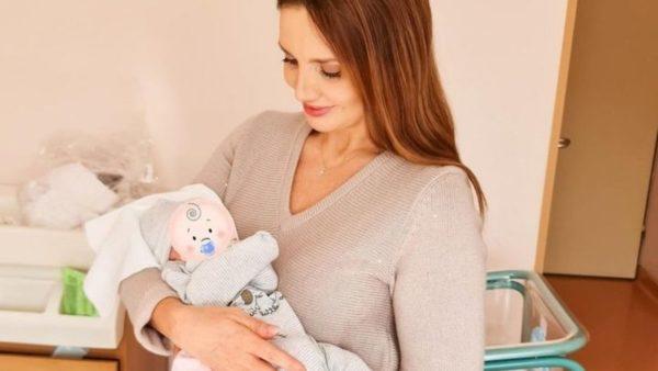 Оксана Марченко с внуком