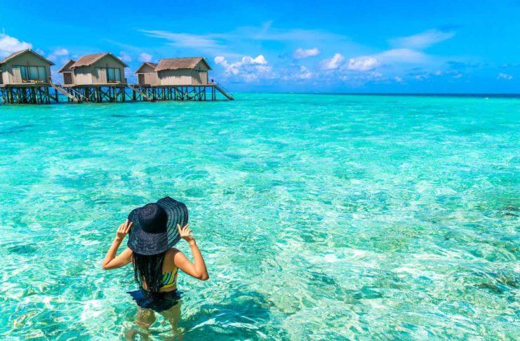 Экзотично красивые Мальдивы