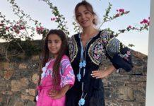 Ани Лорак с дочкой