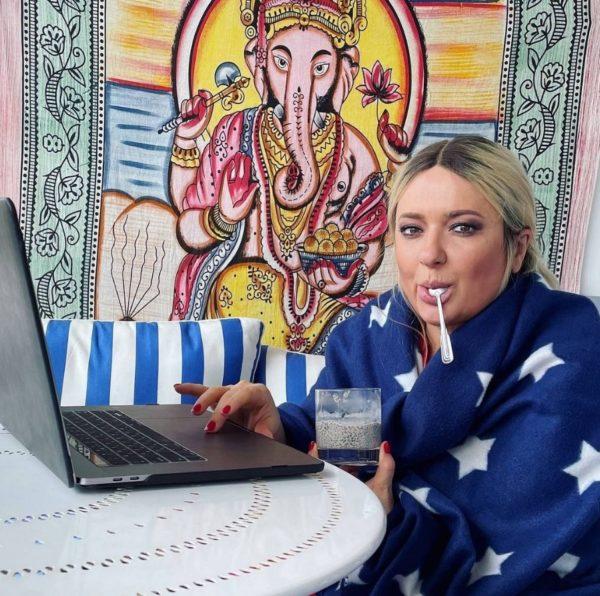 Наталья Могилевская показала, как выглядит утром после праздников