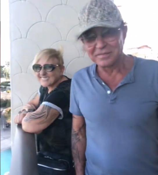 Валерий Лентьев с женой у Юрия Крутого