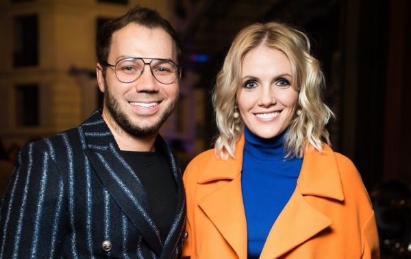 Андре Тан и его жена