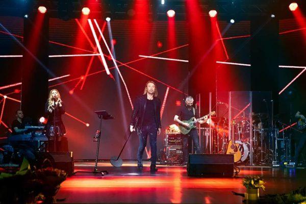 Олег Винник на концерте в мае 2021