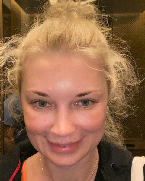 Лидия Таран показала фото без макияжа