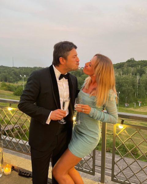 Леся Никитюк и Сергей Притула