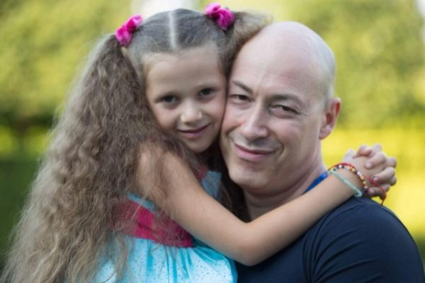 Гордон и его средняя дочь