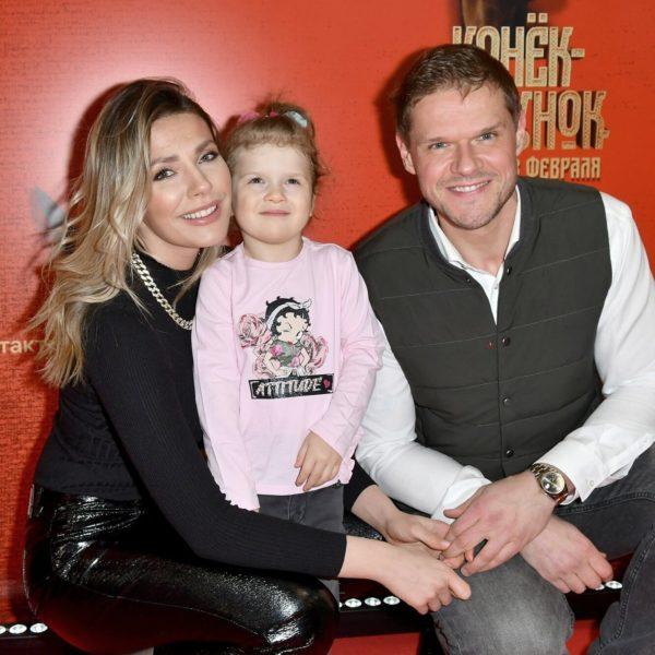 Антоніна Паперна з чоловіком і дочкою