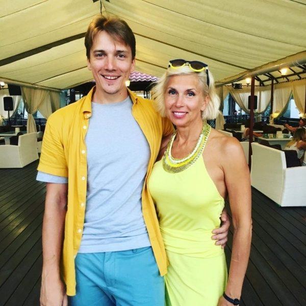 Алена Свиридова и ее сын