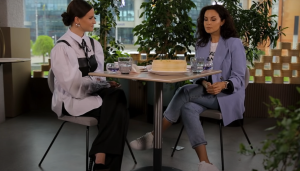 Каменських дала інтерв'ю для YouTube-каналу Dorotye