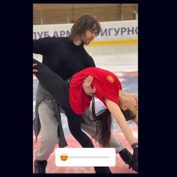 Петр Чернышев с партнершей