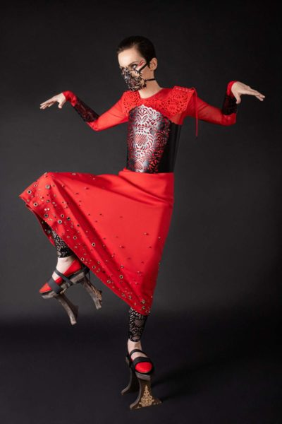 Солістка Go-A Катя Павленко в фотосесії для журналу Vogue