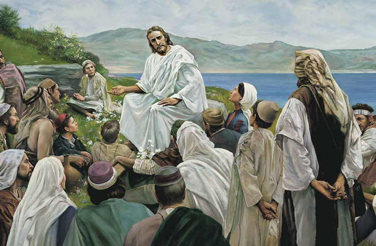Иисус учит