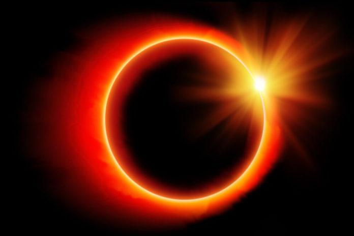Кільцеве сонячне затемнення