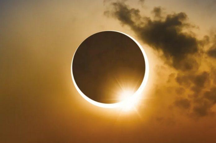 Кільцевий сонячне затемнення