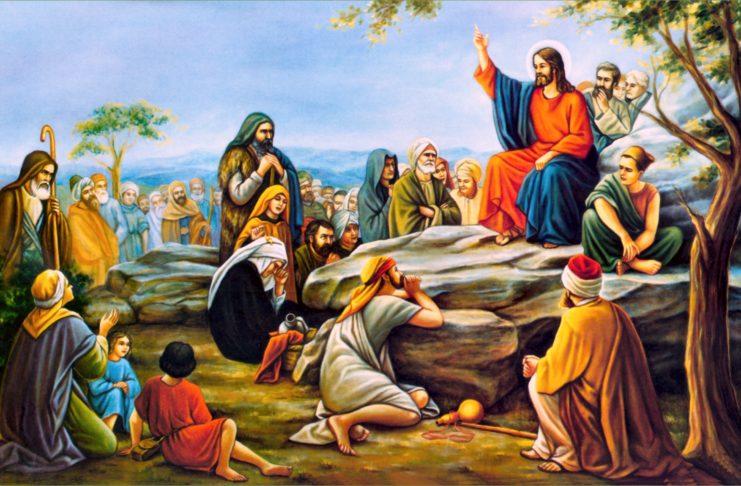 Иисус учит притчами