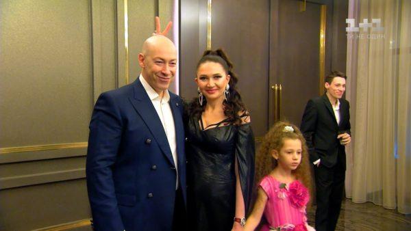 Семья Алеси Бацман - муж и дочь