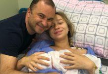 Виктор Павлик стал отцом в четвертый раз