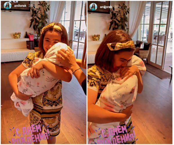 София получила в подарок куклу, которая идентична с настоящим ребенком