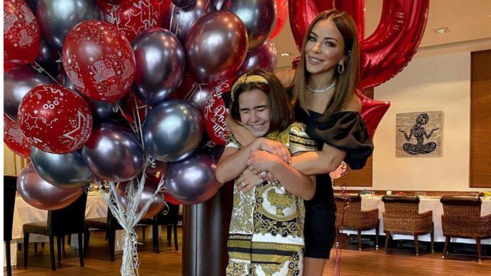 Дочка Ані Лорак Софія відсвяткувала 10-й день народження