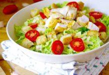 Домашний салат цезарь - дешевле, чем в ресторане