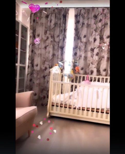 Альбина Джанабаева и Валерий Меладзе обустроили комнату для дочери