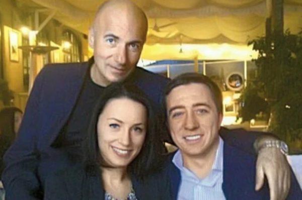 Игорь Крутой и его первая жена Елена, а также их общий сын