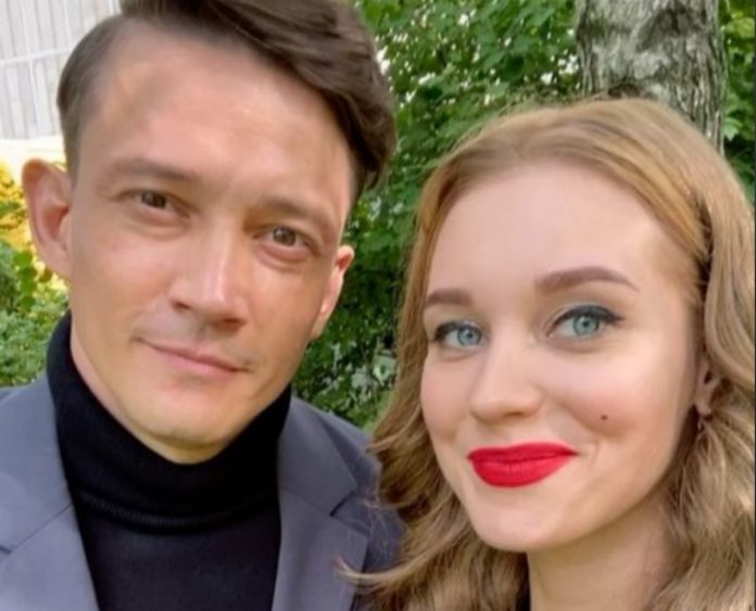 Кристина Асмус и Сергей Гилев