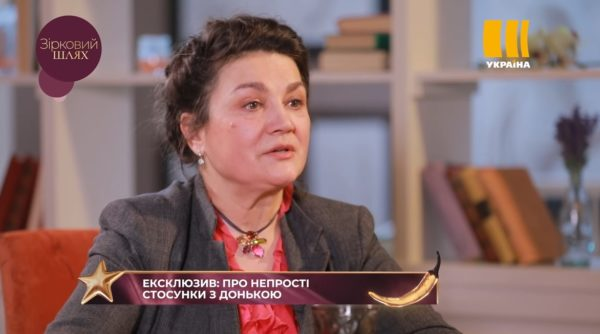 Наталья Сумская в программе Зірковий шлях