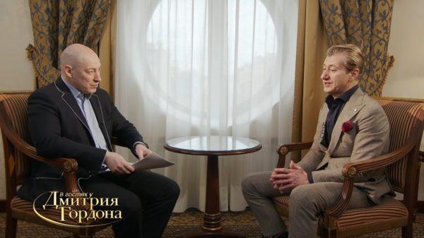 Юрій Нікітін дав інтерв'ю Дмитру Гордону