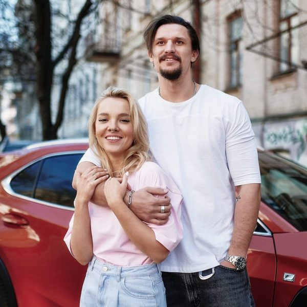 Тарас Цымбалюк с женой Тиной