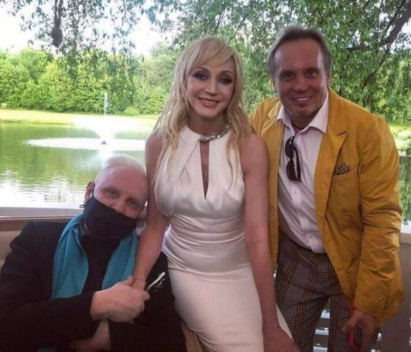 Борис Моисеев на празднике у Кристины Орбакайте