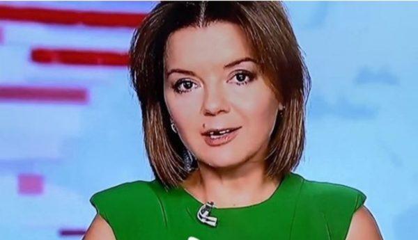 Марічка Падалко продовжувала вести новини без зуба