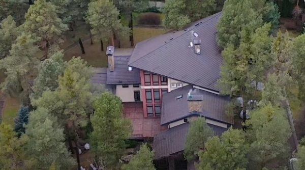 Дом Софии Ротару: вид сверху