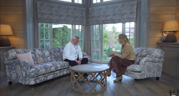 Валерий Меладзе дал интервью Ксении Собчак