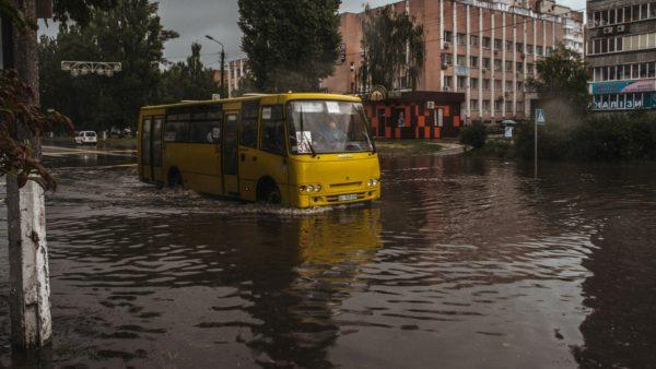 Ураган в Киеве 19 июля