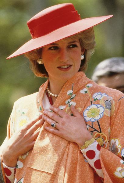 Принцесса Диана - икона стиля 20 века