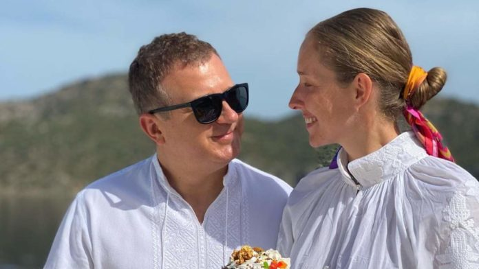 Катя Осадча і Юра Горбунов