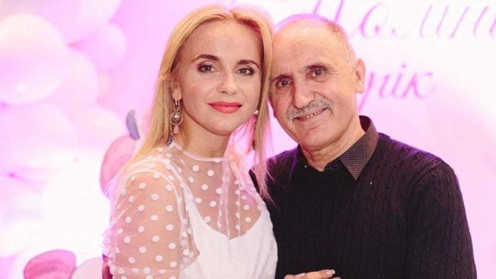 Лілія Ребрик з татом