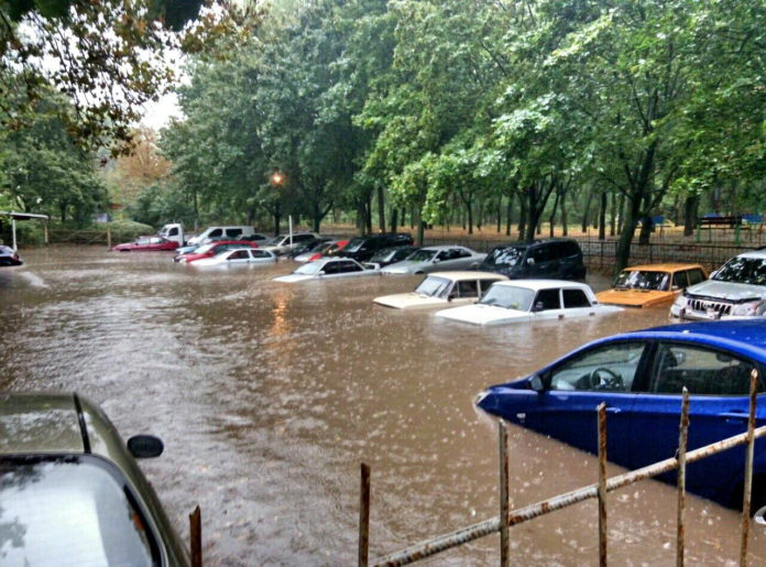 Наводнение в Одессе