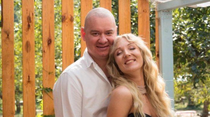 Евгений Кошевой с женой Ксенией